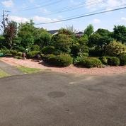 庭に瓦砂利の画像